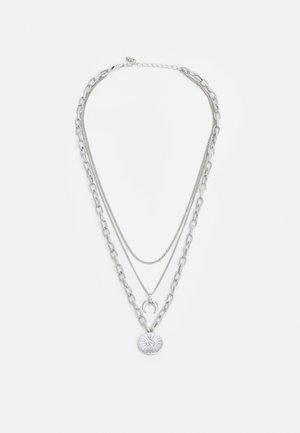 PCSANDELINE NECKLACE  - Ketting - silver-coloured
