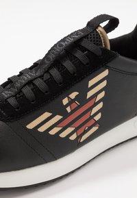 Emporio Armani - Sneakers - black/gold - 5