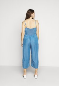 Simply Be - STRAPPY WRAP CULOTTES - Combinaison - mid blue - 2
