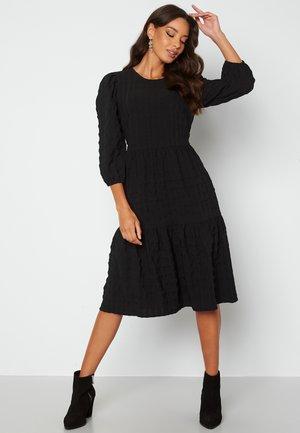 FREDRIKA FLOUNCE - Day dress - black