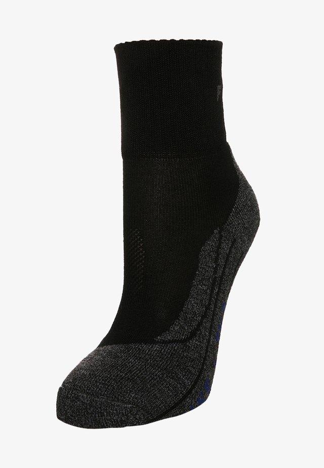 TK2 SHORT COOL  - Sports socks - black/grey