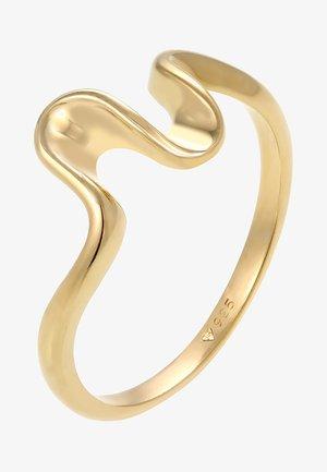 RING WELLEN WAVE STRAND MARITIM  - Pierścionek - gold