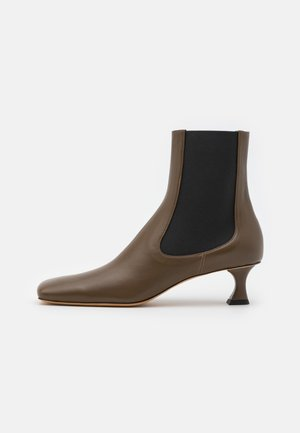 Classic ankle boots - mud