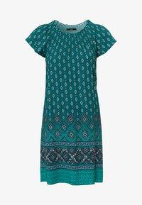 zero - MIT CARMENAUSSCHNITT - Day dress - deep ivy - 4