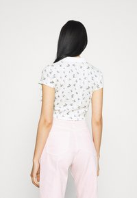 BDG Urban Outfitters - POINTELLE DITSY  - Polo shirt - white - 2