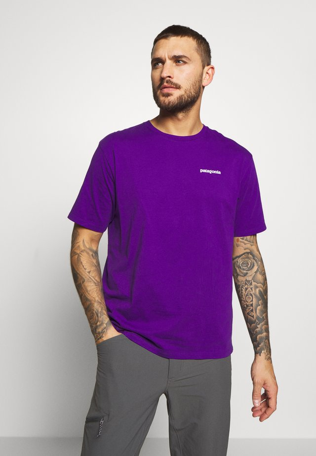 LOGO - T-shirt con stampa - purple