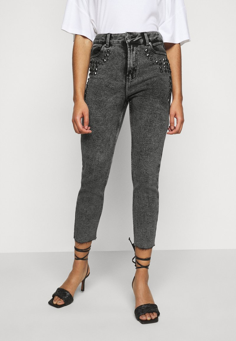 ONLY Petite - ONLWILD EMILY ANJEA - Jeans Skinny Fit - grey denim