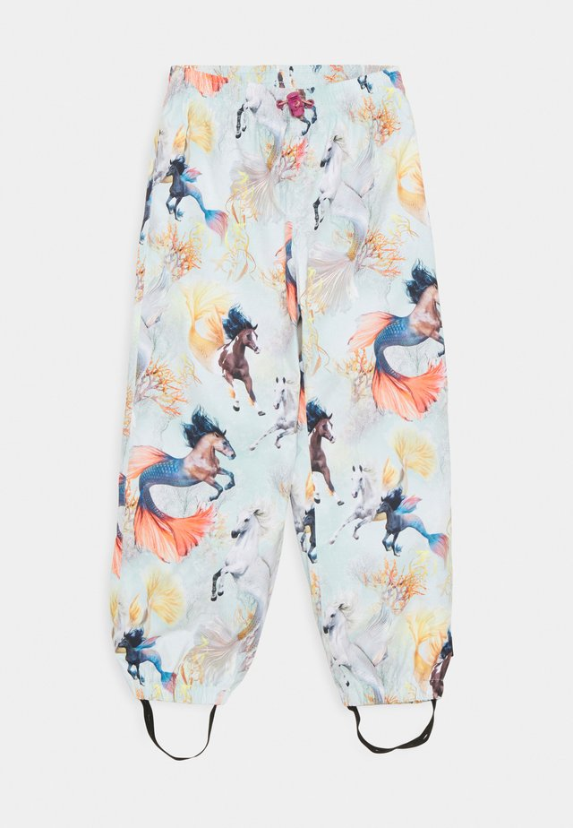 WAITS UNISEX - Rain trousers - swiming horses