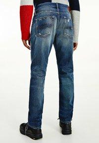 Tommy Jeans - Straight leg jeans - dark-blue denim - 1