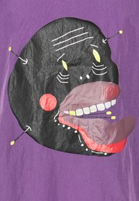 Grimey - LIVEUTION SHORT SLEEVE COACH JACKET UNISEX - Summer jacket - purple - 2