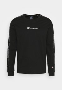 Champion - LEGACY TAPE LONG SLEEVE - Langarmshirt - black - 4