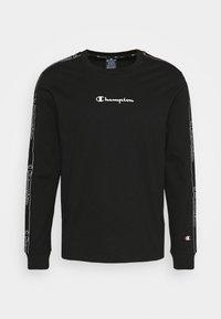 LEGACY TAPE LONG SLEEVE - Long sleeved top - black