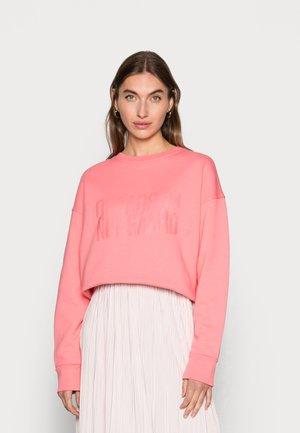 ORGANIC TILVINA - Sweatshirt - strawberry pink