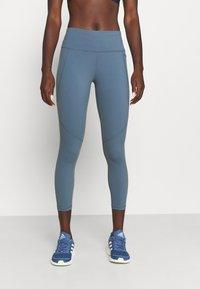 Sweaty Betty - POWER WORKOUT 7/8 LEGGINGS - Leggings - steel blue - 0