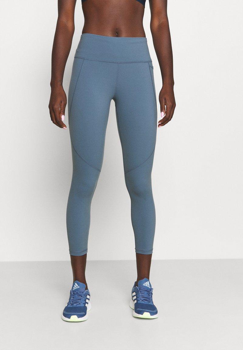Sweaty Betty - POWER WORKOUT 7/8 LEGGINGS - Leggings - steel blue