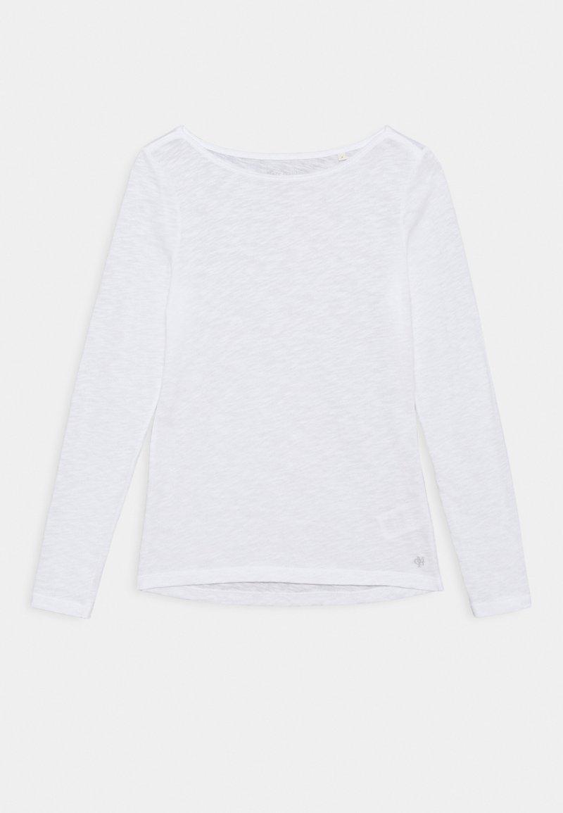Marc O'Polo - LONG SLEEVE BOAT NECK - Top sdlouhým rukávem - white