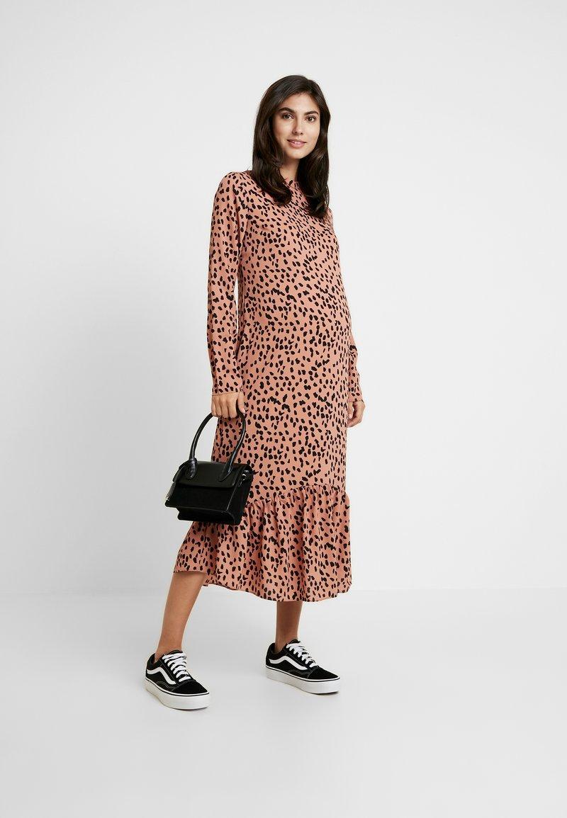 dress - freizeitkleid - pink/black