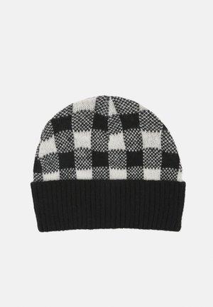 CHECKS HAT - Muts - black