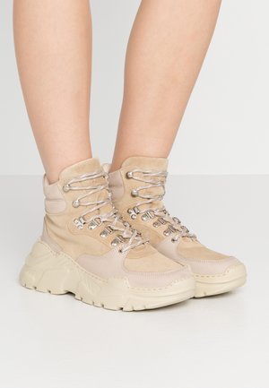 ZINA - Sneakers high - sand