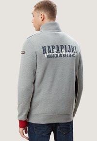Napapijri - BARDARA  - Zip-up sweatshirt - grey - 2
