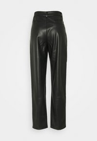 Noisy May Tall - NMCHIKA ANKEL PANTS  - Trousers - black - 1