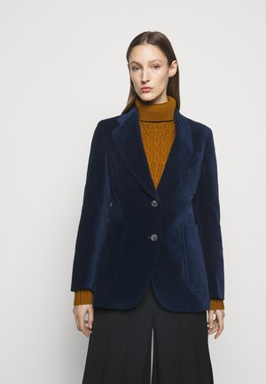 TAILORED PATCH POCKET JACKET - Blazer - navy