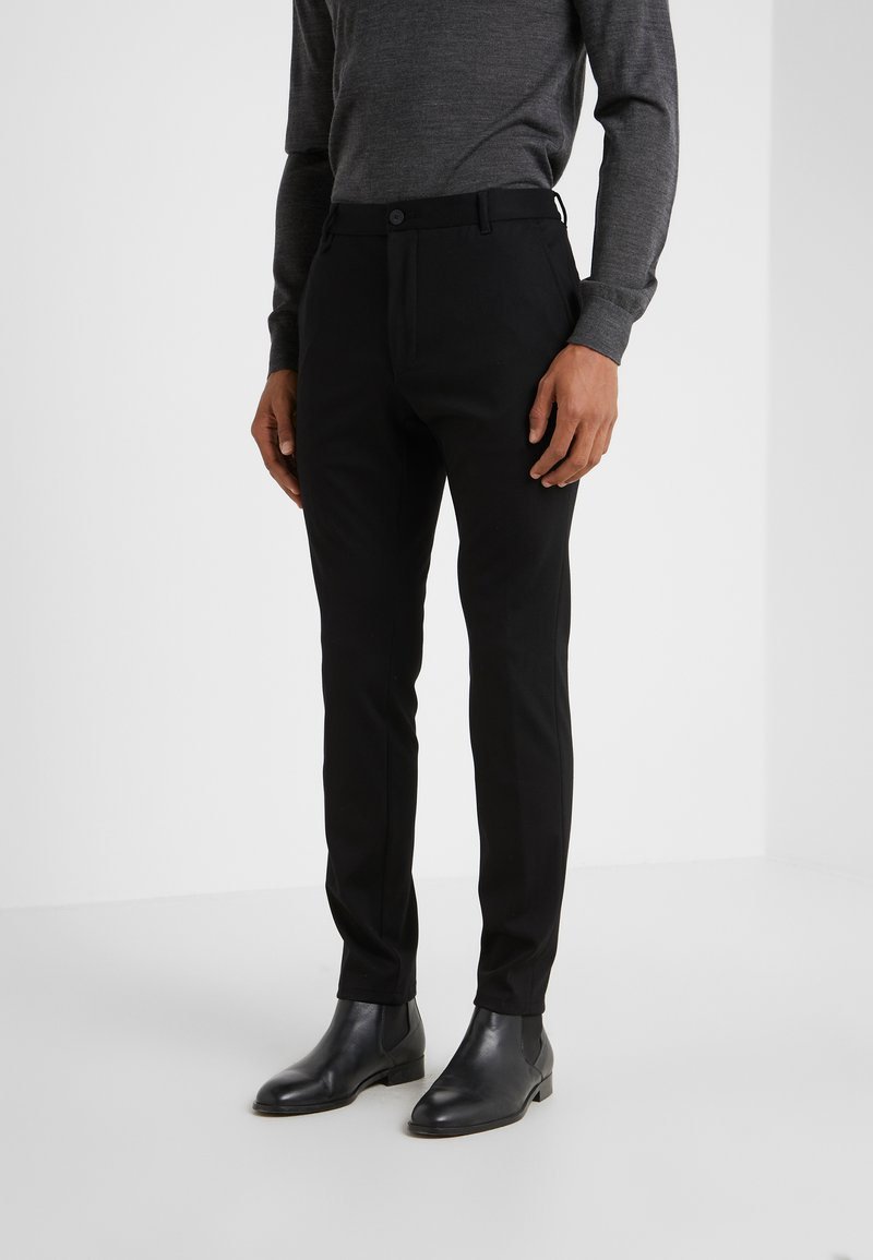 HUGO - HELDOR - Trousers - black