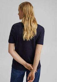Esprit - Basic T-shirt - navy - 2