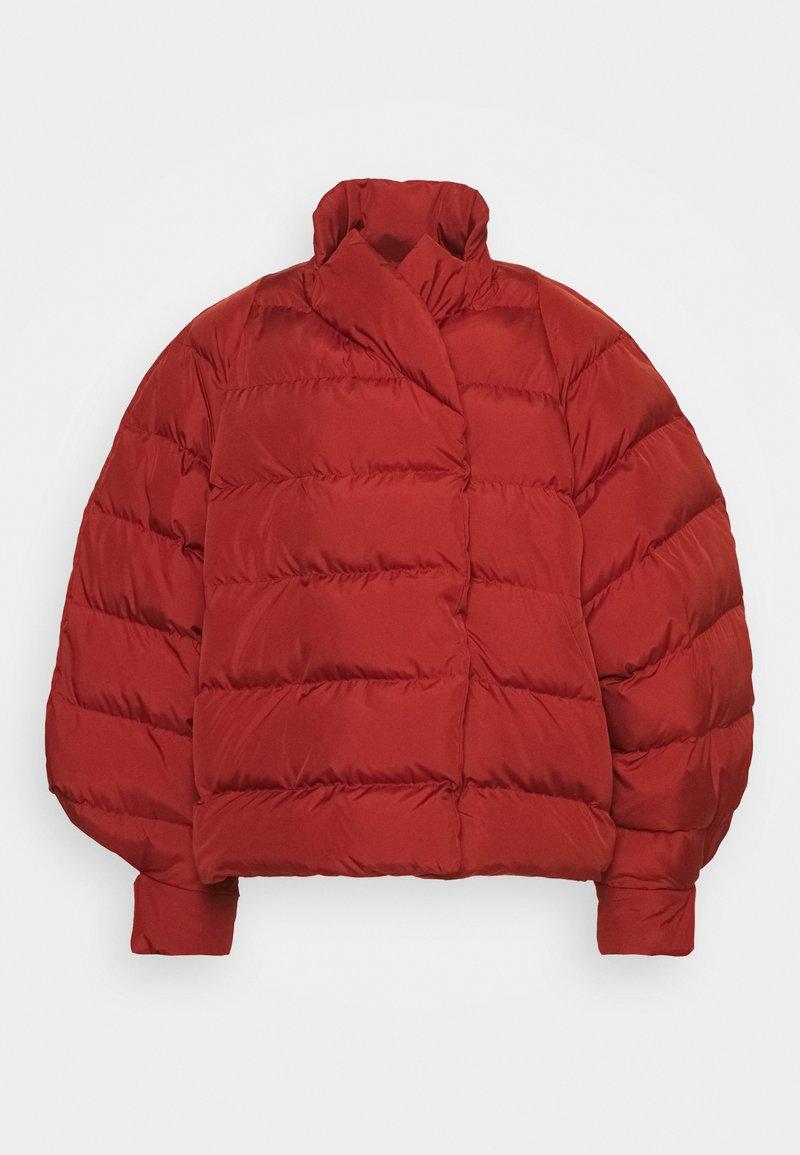 Henrik Vibskov - TILES SHORT JACKET - Winter jacket - burn brick