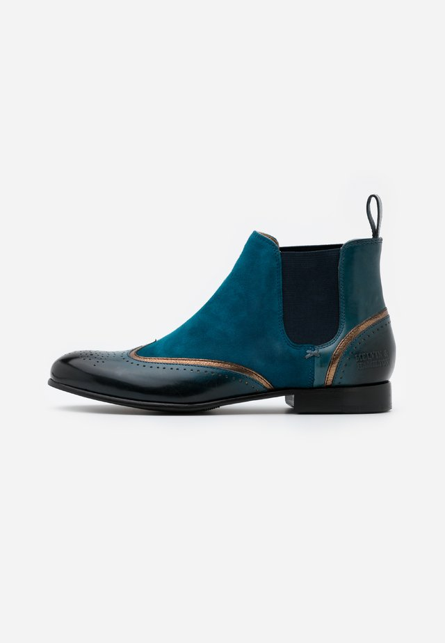 SALLY - Ankle boot - ice lake/aztek/bronze/turquoise