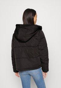 Tommy Jeans - HOODED JACKET - Winter jacket - black - 2