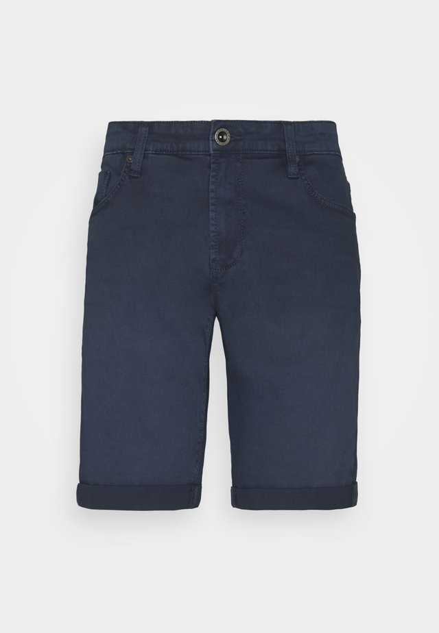 LUCKY FIVE POCKET - Denim shorts - navy