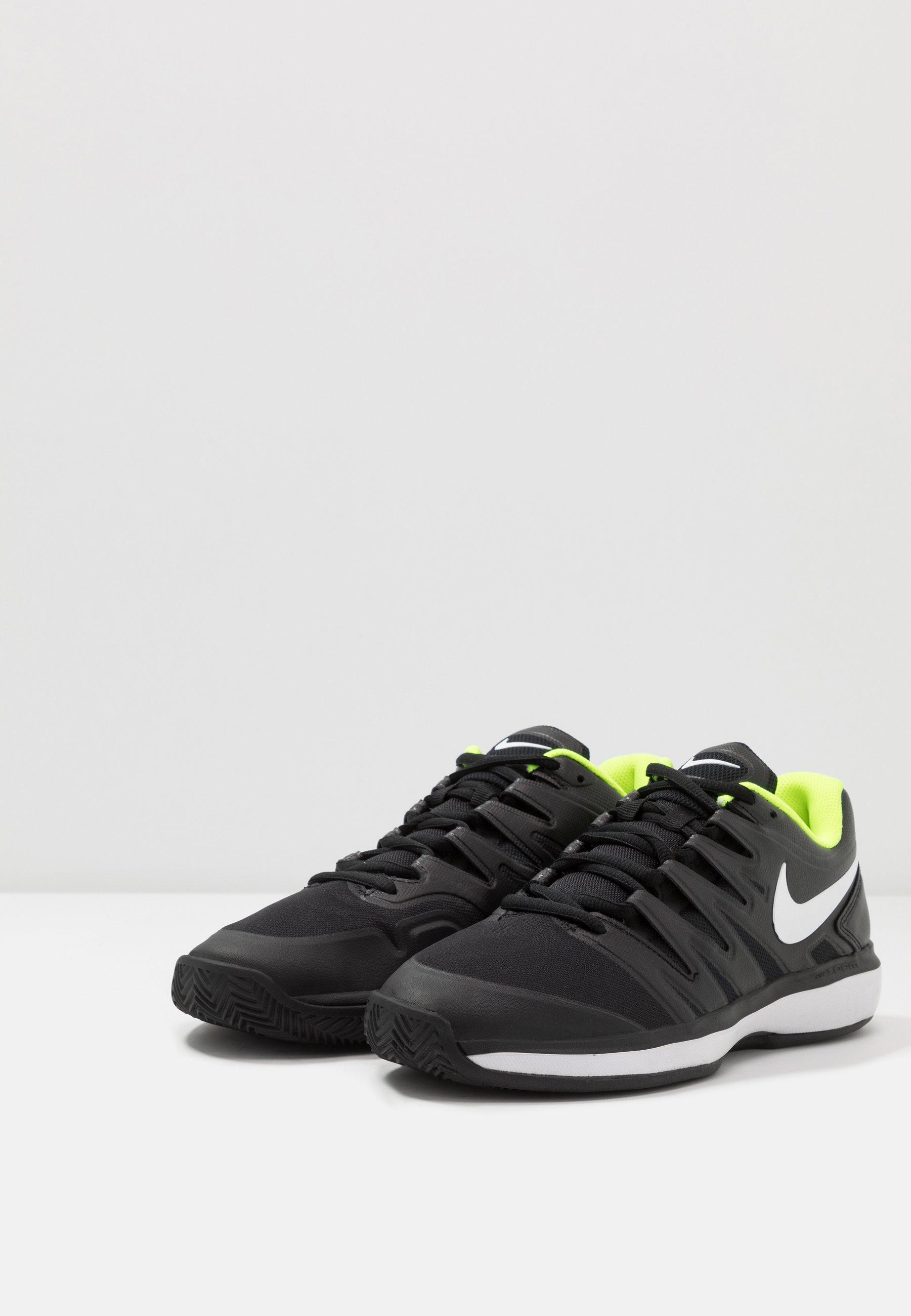 Comprare Scarpe da uomo Nike Performance AIR ZOOM PRESTIGE CLAY da tennis per terra battuta black/white/volt