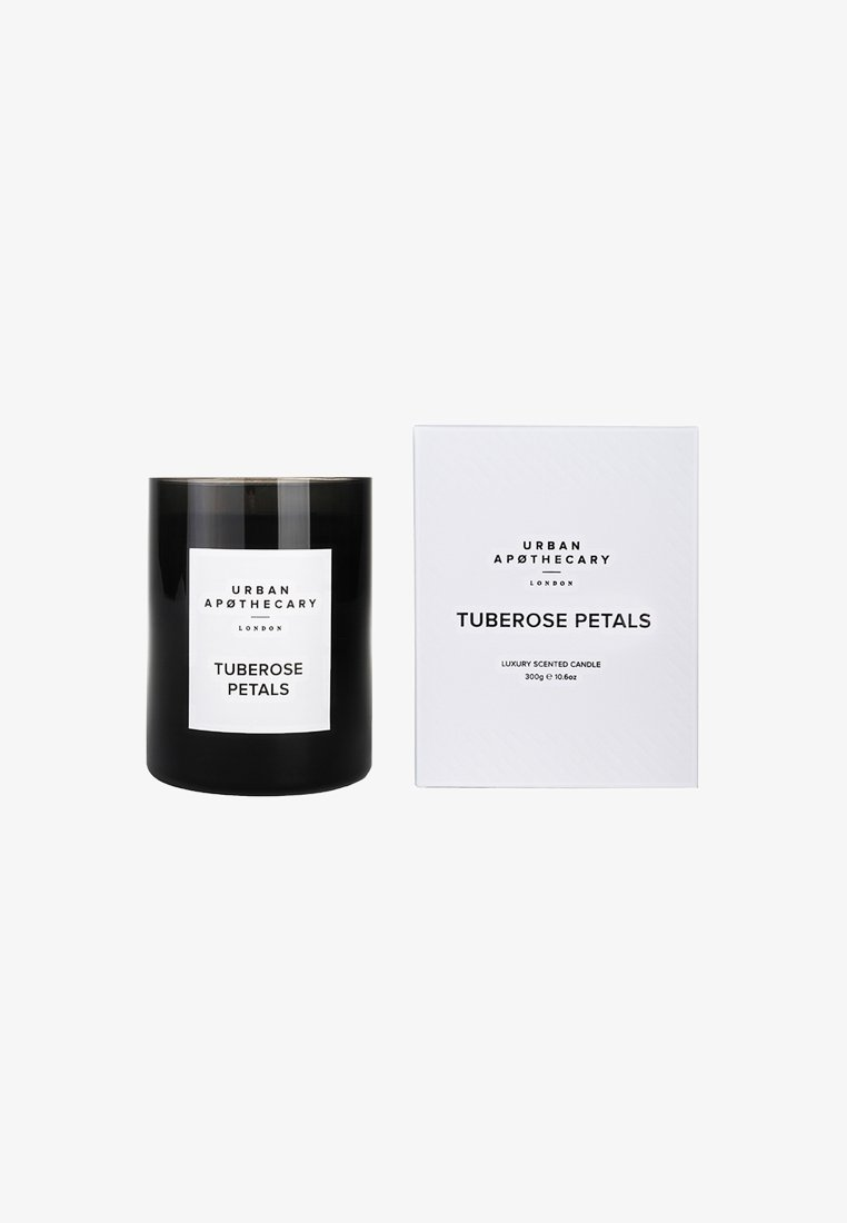 Urban Apothecary - LUXURY BOXED GLASS CANDLE - Scented candle - tuberose petals
