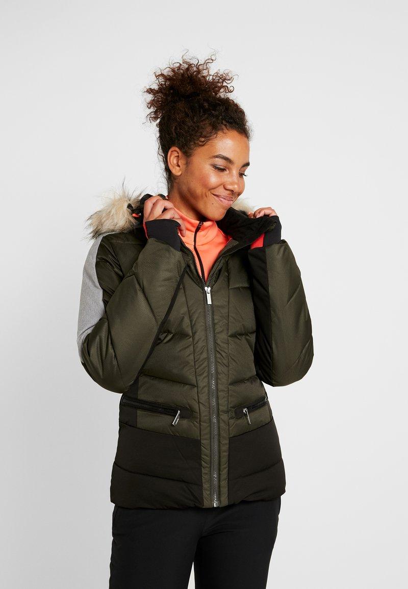 Icepeak - ELECTRA - Snowboard jacket - dark green