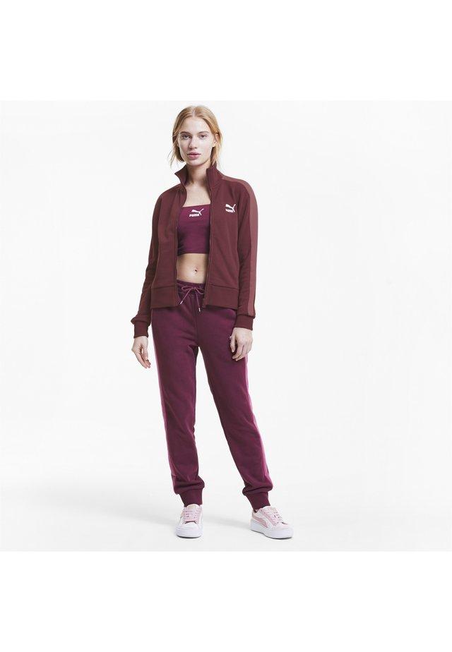 Training jacket - burgundy