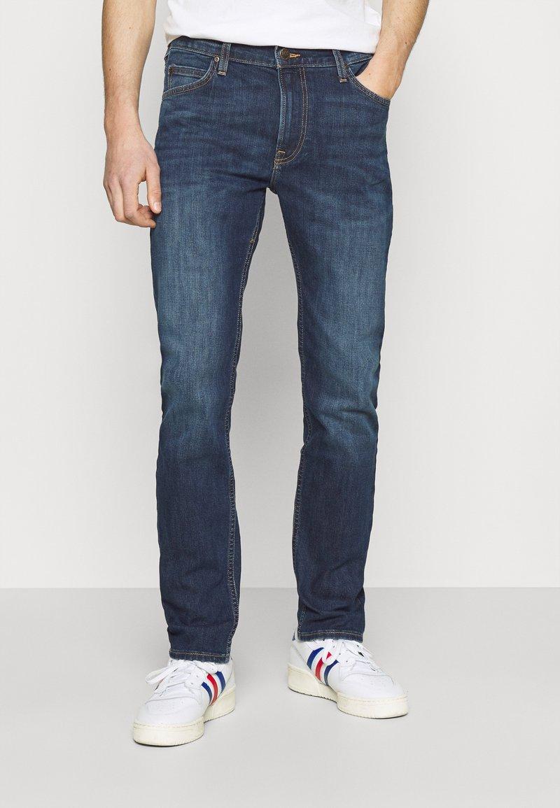 Lee - RIDER - Jeans slim fit - dark used