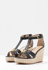 Lauren Ralph Lauren - HALE CASUAL - High heeled sandals - black - 4