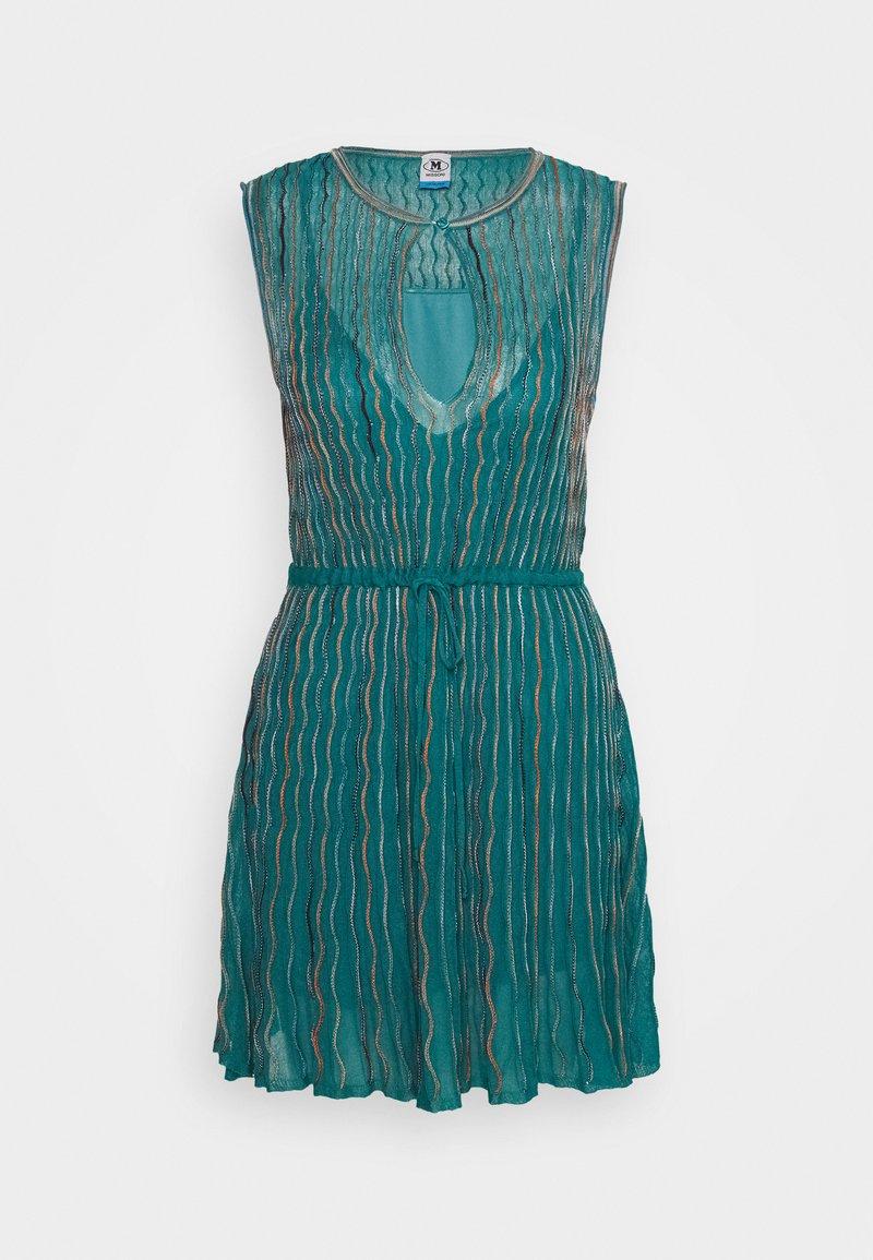 M Missoni - ABITO SENZA MANICHE - Strikket kjole - purple