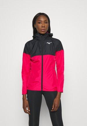 TRAINING HOODED JACKET - Training jacket - rose red