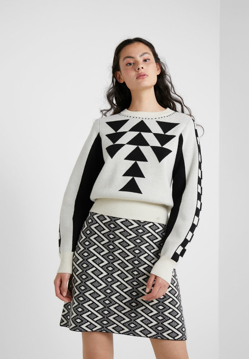 See by Chloé - Pullover - white/black