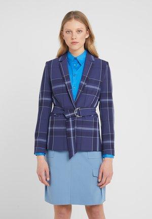 ANYA MAXI CHECK - Blazer - crown blue