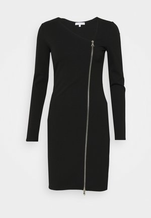 ABITO DRESS - Jerseyklänning - nero