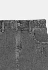 Calvin Klein Jeans - ELAS ALINE  - Minisukně - grey - 2