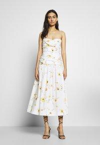 Bec & Bridge - COLETTE MIDI DRESS - Day dress - off white - 1