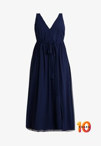 Little Mistress Curvy - ROSE NECK MAXI DRESS - Ballkjole - navy - 5