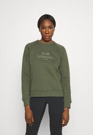 ORIGINAL CREW - Sweatshirt - thrill green