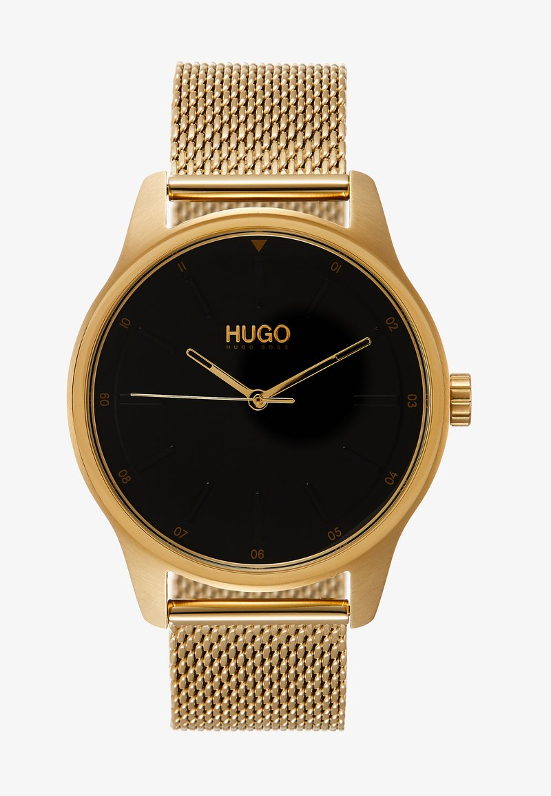 HUGO - DARE - Watch - gold-coloured