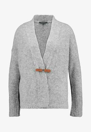 BOUCLE CARDI - Cardigan - grey
