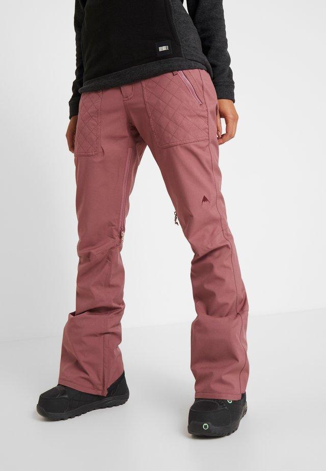 VIDA - Spodnie narciarskie - rose brown